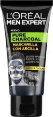 Zwarte L'Oréal Paris Gezichtsmasker Pure Charcoal L'Oreal Make Up (50 ml)