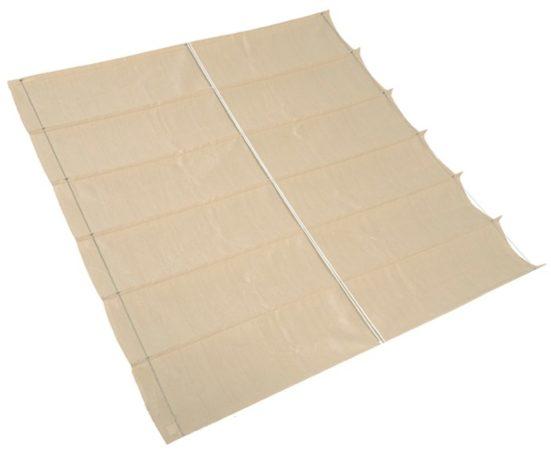Afbeelding van Witte Schaduwdoek - Nesling - Coolfit Harmonica - Gebroken Wit - 2,9 x 4,0 m