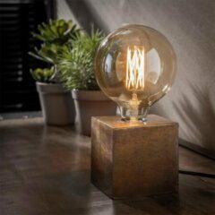 Bruine Easy Furn Tafellamp Modesto - Brons Antiek