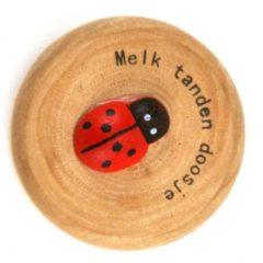 Basic Melk Tanden Houten Doosje