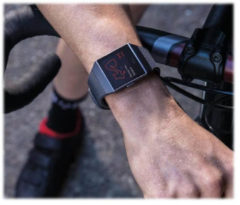 Fitbit, Inc Fitbit Ionic - Intelligente Uhr FB503GYBK-EU