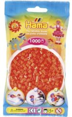 Hama Beads 207-04 kabelbeschermer Tube bead Oranje 1000 stuk(s)