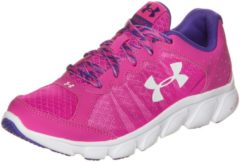 Rosa Under Armour® Micro G Assert 6 Laufschuh Kinder