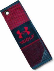 Rode Under Armour Golf Towel Red/Dark Navy