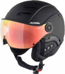Alpina Jump 2.0 HM Skihelm met vizier - 2019 | Hicon | mat zwart | Maat: 55 - 58 cm
