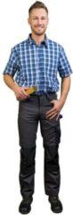 Donkergrijze Merkloos / Sans marque Broek voor werk en hobby, kleur grijs koninklijk, maat 56