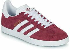 Bordeauxrode Lage Sneakers adidas GAZELLE