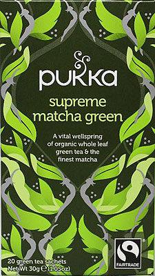 Afbeelding van Pukka Org. Teas Supreme matcha groen tea 20 Stuks