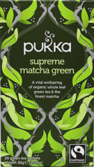 Pukka Org. Teas Supreme matcha groen tea 20 Stuks