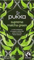 Pukka Org. Teas Supreme Matcha groen Tea Bio (20st)
