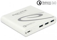 DeLOCK 41432 oplader voor mobiele apparatuur Binnen Wit