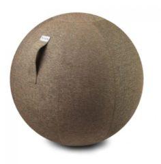 Zitbal Stov - Macchiato - 100% polyester - Ø60-65 - Vluv