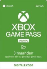 Microsoft Xbox Game Pass voor PC - 3 Maanden Abonnement - Windows download