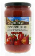 Bioidea Tomaten Gepeld (Glas) (660g)