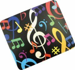 AIM Muismat gekleurde muzieknoten