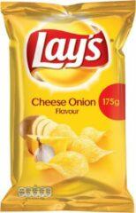 Lay's Lays Chips met Cheese Onion Smaak - 8 x 175 gram.