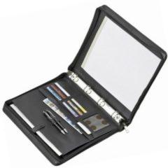 Schreibmappe Leder 36,5 cm Dermata schwarz