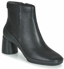 Zwarte Boots en enkellaarsjes Upright K400371 by Camper