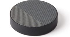 Grijze Lexon Design Lexon Oslo Energy Bluetooth Speaker/Draadloze oplader Grey