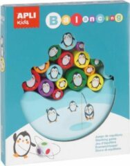 Apli Kids Houten evenwichtsspel pinguins