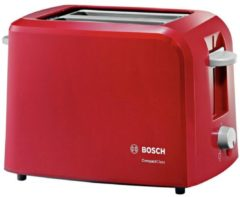Rode Bosch TAT3A014 CompactClass Compact - Broodrooster - Rood