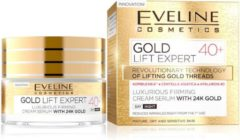 Eveline Cosmetics Gold Lift Expert Luxurious Firming Cream Serum With 24K Gold 40+ Day/Night 50ml.