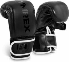 Gymrex Bokshandschoenen voor training met bokszak - 12 oz - zwart