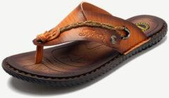 Newchic Men Clip Toe Comfortable Soft Water Flip Flops Casual Beach Sandals