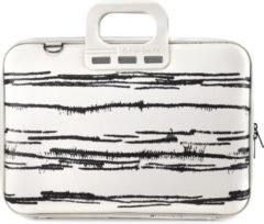 "Witte Bombata Laptoptas Black&White 15,6"" White"
