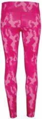 Roze Women's TriDri® performance Hexoflage® legging, Kleur Camo Hot Pink, Maat XS