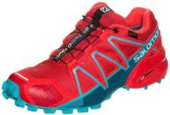 Speedcross 4 GTX Trail Laufschuh Damen Salomon barbados cherry / poppy red / deep lagoon
