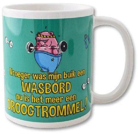 Afbeelding van Paperdreams Funny Mugs 17- wasbord