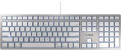 CHERRY KC 6000 SLIM FOR MAC toetsenbord USB QWERTY Amerikaans Engels Zilver