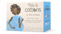 Cottons Tampons tiener