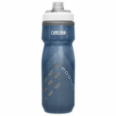 Blauwe CamelBak Podium Chill Drinkfles 710 ml Navy Perforated