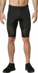 Zwarte CW-X Stabilyx Compressiebroek kort met heup, rug en knie ondersteuning - heren - maat M