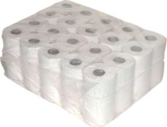 MTS Euro Products BV Toilet/WC papier 2-laags - Recycled - Wit - 10 x 4 rollen
