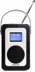 ArtSound R3B, portable radio, FM/DAB+, zwart