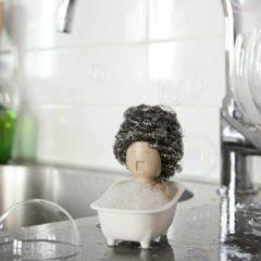 Beige Peleg Design Soap Opera Sponshouder