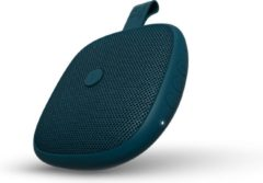 Blauwe Fresh n Rebel Fresh 'n Rebel Rockbox BOLD Xs - Draadloze Bluetooth speaker - Petrol Blue
