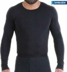 Embrator mannen Thermo Shirt longsleeve zwart maat XXL