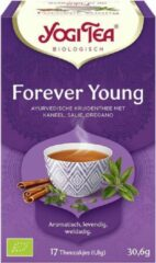 Yogi Tea Forever Young Voordeelverpakking - 6 pakjes van 17 theezakjes