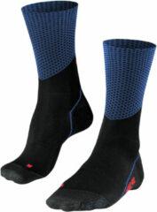 Falke Falke BC Impulse Slope Fietssokken - Maat 37/38 - Unisex - zwart - blauw