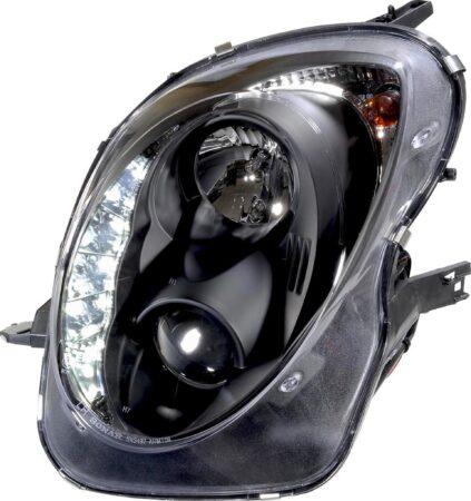 Afbeelding van AutoStyle Set Koplampen incl. DRL passend voor Alfa Romeo Mito 2008- - Zwart