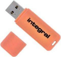 Integral Neon USB3.0 64GB 64GB USB 3.0 Oranje USB flash drive