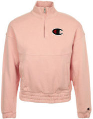 Roze Champion Logo 1/4 Zip - Dames Track Tops