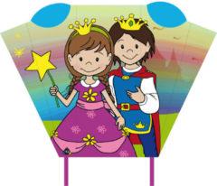 Invento vlieger Magic Kite Pocket Sled prins & prinses 2-delig