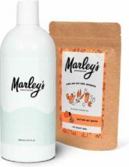 Marley's Amsterdam starterspakket   Duurzame en natuurlijke shampoo   Eucalyptus & Groene klei + Herbruikbare shampoo fles   Shampoo starterskit   Maak je eigen duurzame en natuurlijke shampoo   Kerstcadeau   Geschenkset   Giftbox