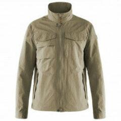 Fjällräven - Travellers MT Jacket - Vrijetijdsjack maat L, grijs/olijfgroen/beige