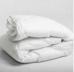 Dekbeddenwereld- Enkel Dekbed- 200x200- Tweepersoons - anti-allergieën- wasbaar- wit
